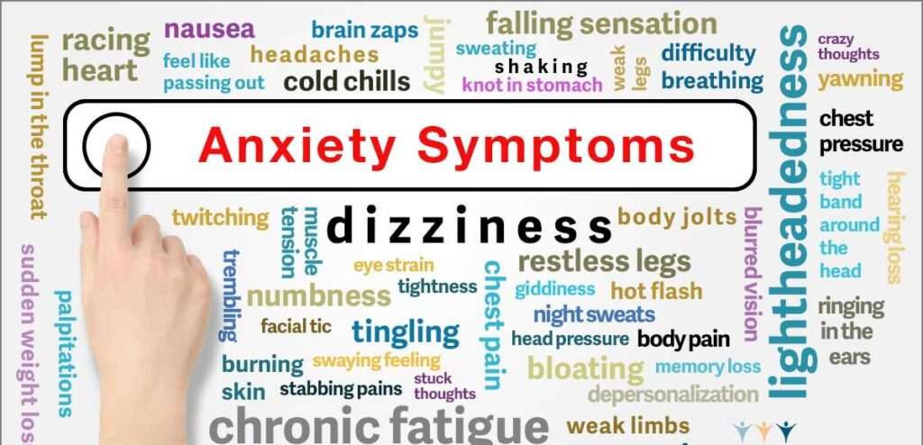 Symptoms Of Anxiety Disorder